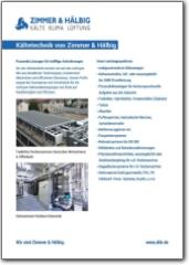 Infoblatt Kältetechnik
