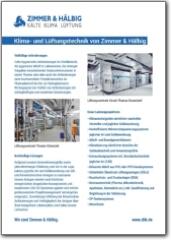 Infoblatt Klimatechnik